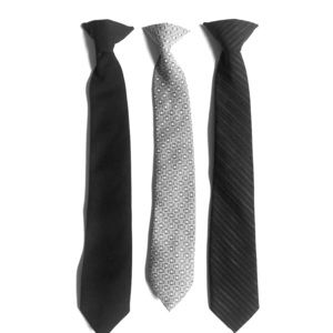 Other - 3 boys clip on ties